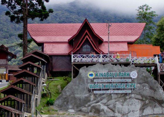 entrance to kinabalu national park