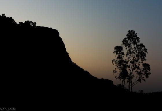 morning glow over nandi