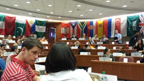 Inside a Harvard MBA classroom