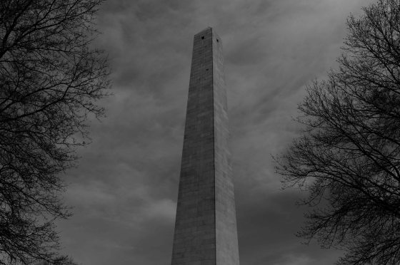 another view of the obelisk