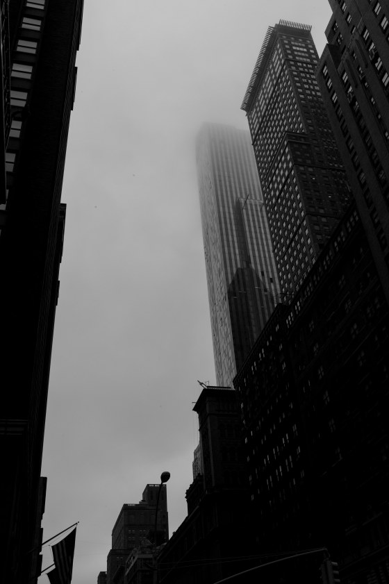 A dull grey NY day...