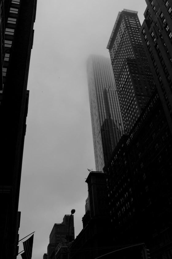 A dull grey NY day...