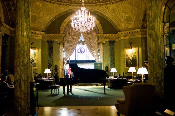 foyer of Steinway Gallery