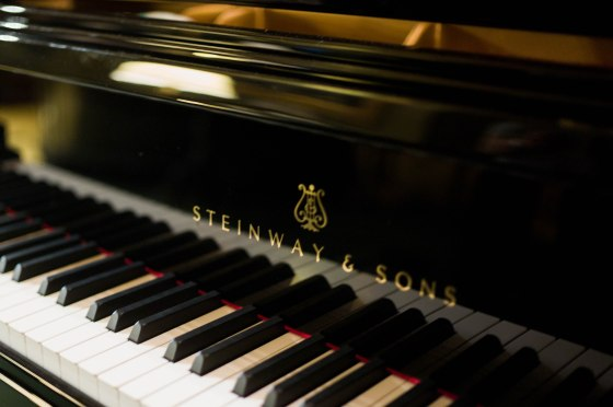 they don't come anymore iconic or better than Steinway