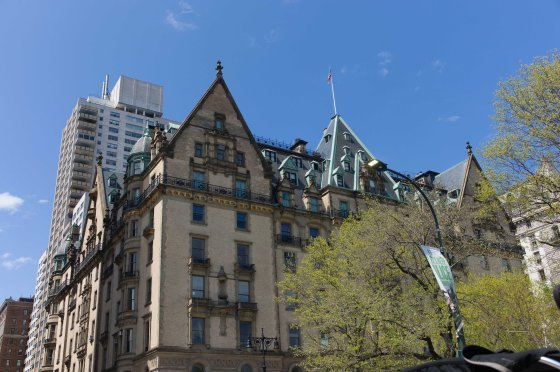 The Dakota Apartment building where John Lennon met his untimely end