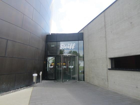 modern entrance