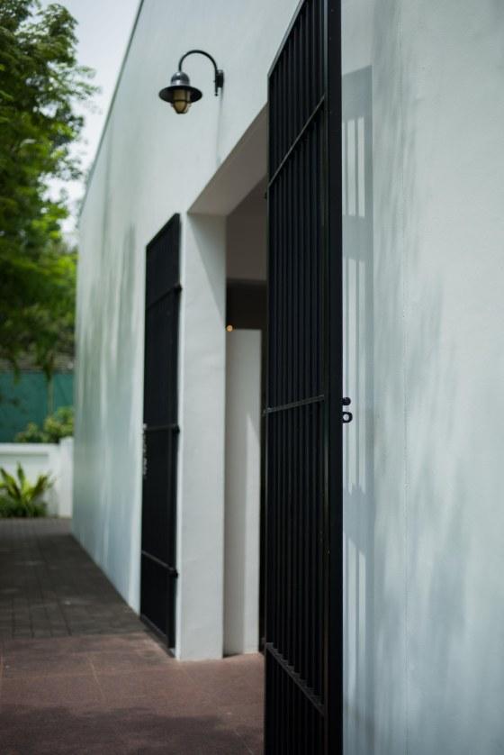 Entrance to Changi Musesum