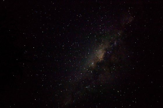 We even got shots of the milky way...