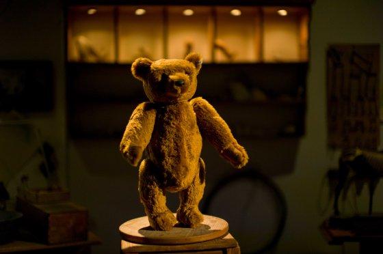 The classic Steiff teddy bear