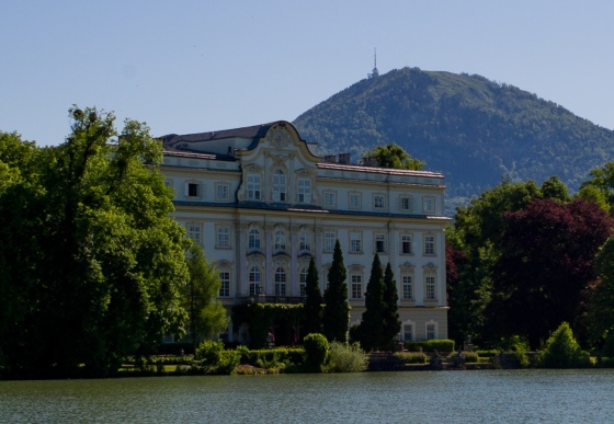 Captain von Trapp's house on the lake
