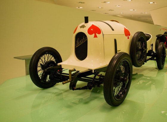 One of the earliest racing porsches