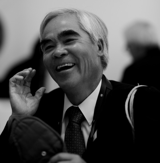 Nick Ut gracing the occasion..