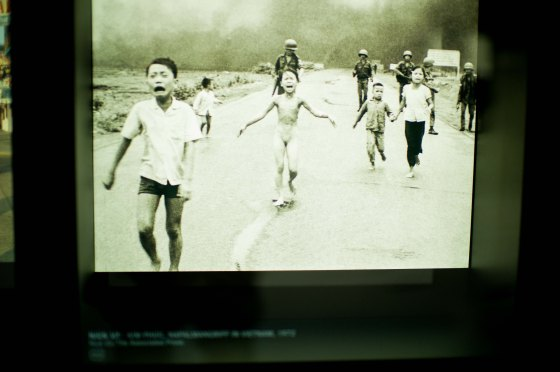 Remember this photo of the Napalm girl? It was taken by photographer Nick Ut...