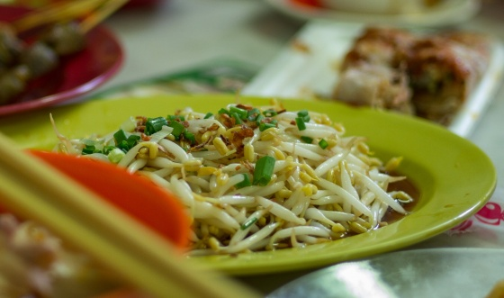 famous Ipoh bean sprouts