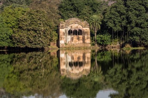 the famous tiger pavilion