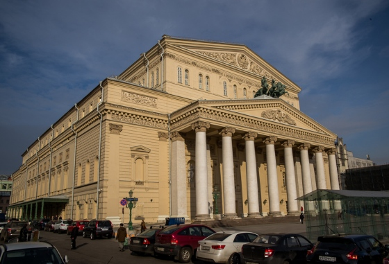No visit to Moscow is complete without a visit to the Bolshoi Theatre..just refurbished
