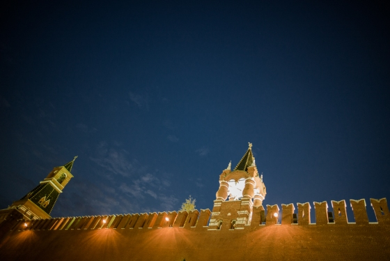 detail from Kremlin wall
