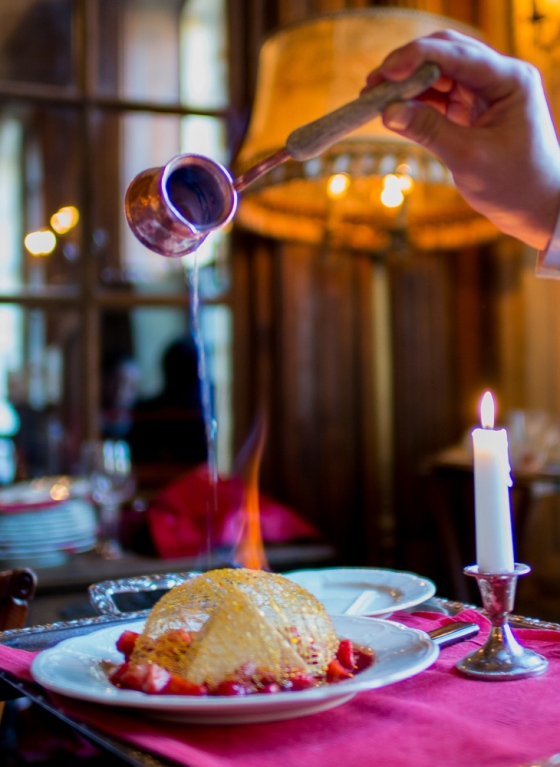 Cafe Pushkin dessert