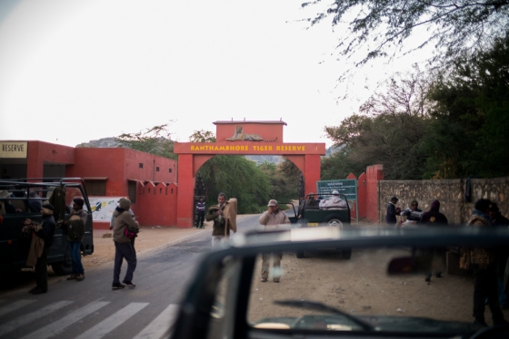 entrance to Ranthambore TR