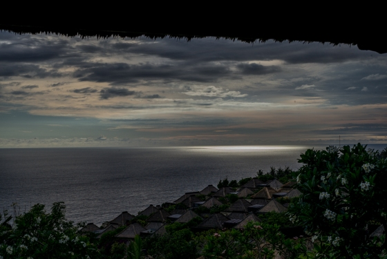 sunset in Uluwatu