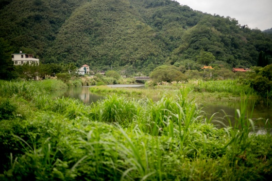 Guang Xin He Pin nature park is a riverine park about 40min out of Taipei, near to the scenic area of Wulai