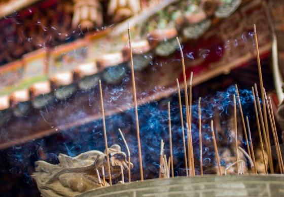 incense fumes