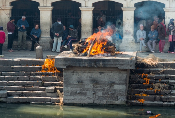 the cremation