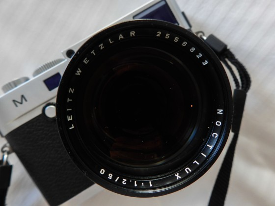 the Noctilux 55mm F1.2 on the Leica M240