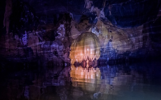 With just light from our torches, the Leica Q came into its own, enabling all these shots in the dark cavern, on a moving boat ..I cannot imagine trying to focus a Leica M here!