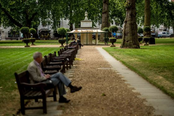Round the corner is the rather more well known Berkeley Square...as in the song'The nightingale sang in Berkeley Square...