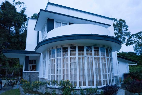 The bungalow, once known as Buona Vista sits proudly on a hillock