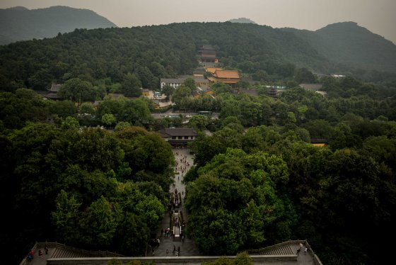 There was also a good view of a temple which was the inspiration for the song Nan Ping Wan Zhong..evening bells at Nanping Hill